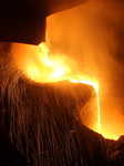 Steel Foundry Molten Steel Industrial Photography
