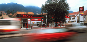 Bogota Service Station Energy Industrial Photography