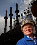 Petroleum Refinery Plant Energy Industrial Photography