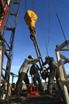 Petroleum Industry Oil Well Workers