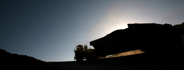Industrial Photography Coal Mining Trucking