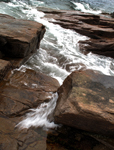 Water Rocky Shoreline Acadia National Park Maine Landscape Photography